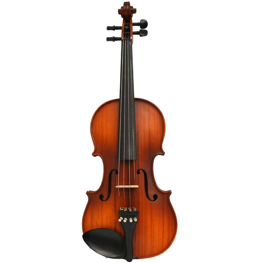Vienna Strings Nagasaki Bamboo Violin Shaded warm Cherry Finish