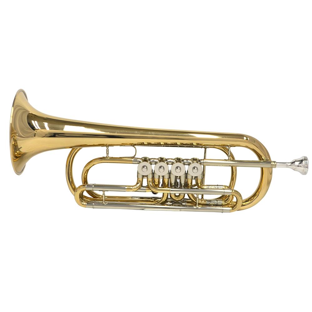 Schiller Frankfurt Elite Rotary Bass C Trumpet