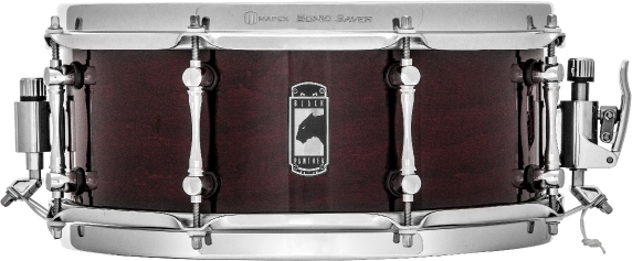 Mapex Black Panther Cherry Bomb Snare Drum - BPCW3550CNCY