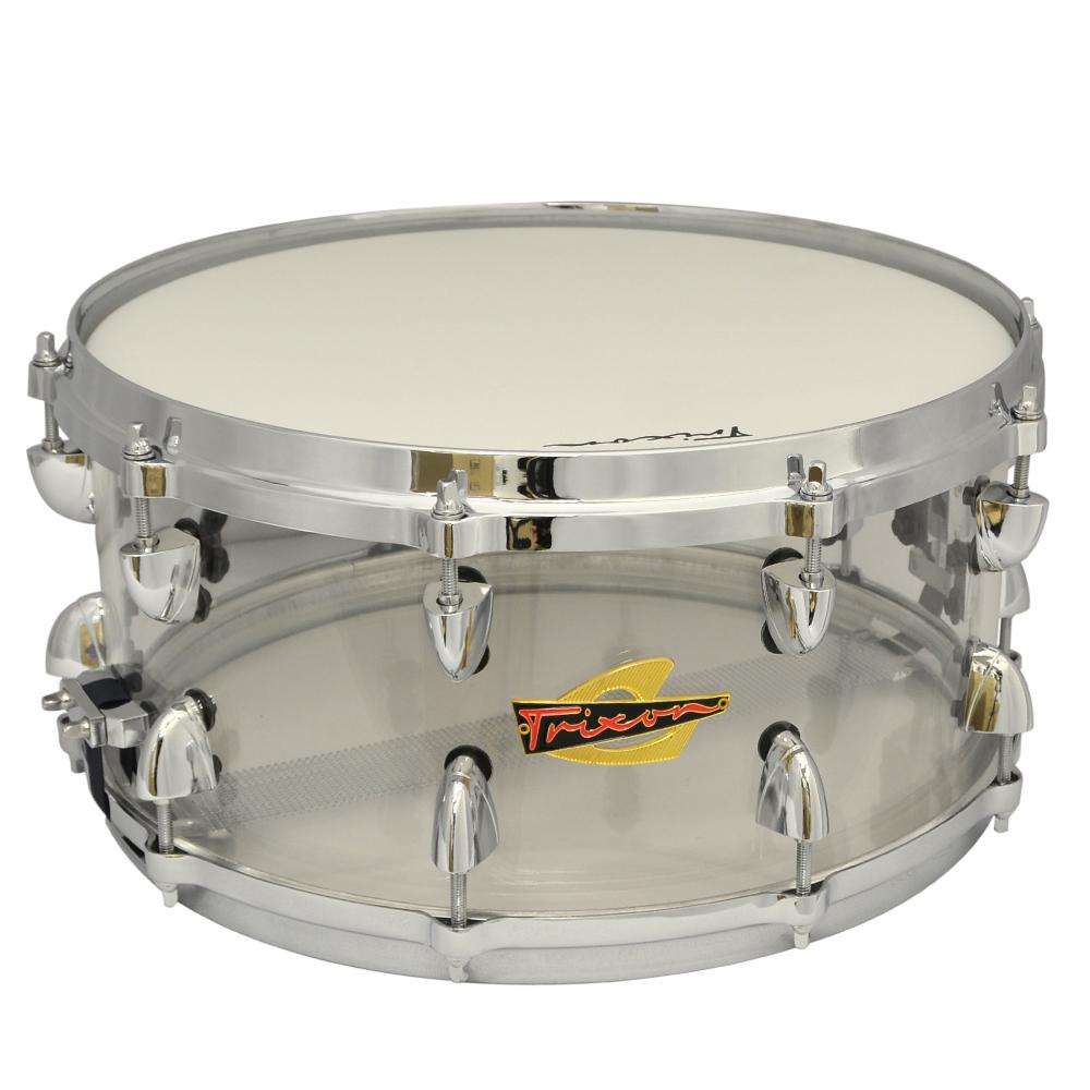 Trixon Solist Acrylic Snare Drum 14