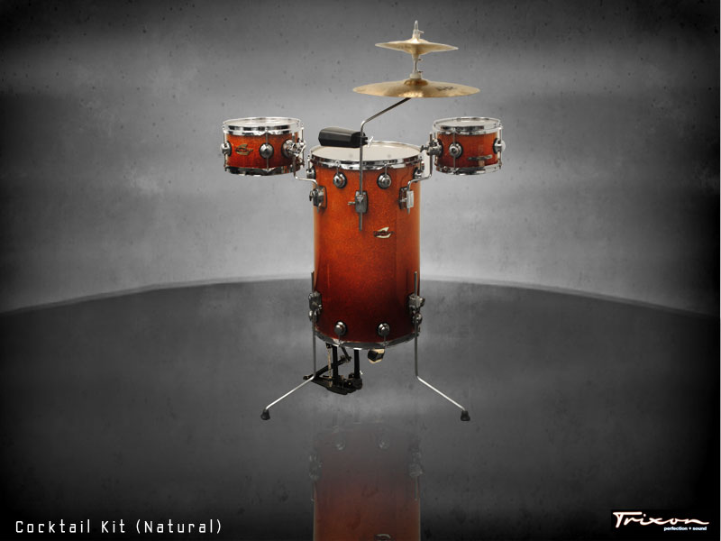 Trixon Elite Cocktail Kit Orange Fade