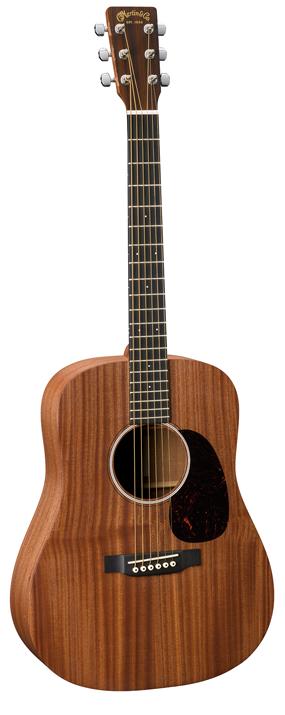 Martin D Jr. 2E Sapele Acoustic Guitar