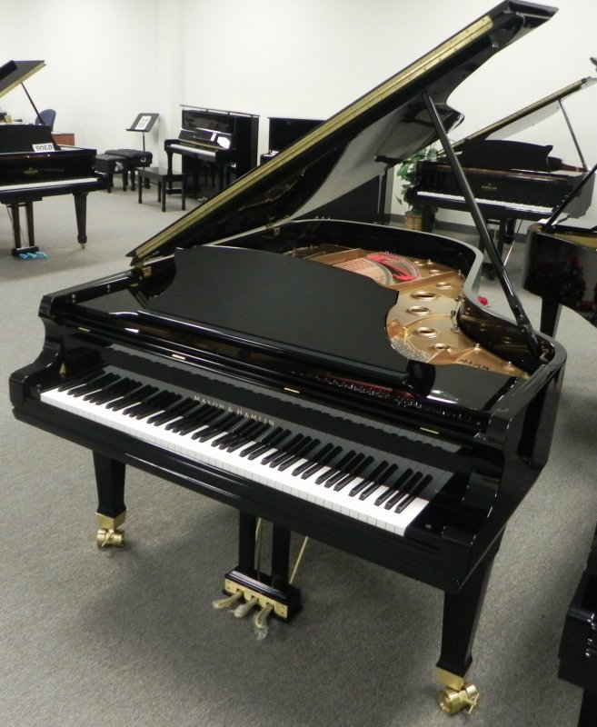 Mason & Hamlin BB Grand Piano Black Polish