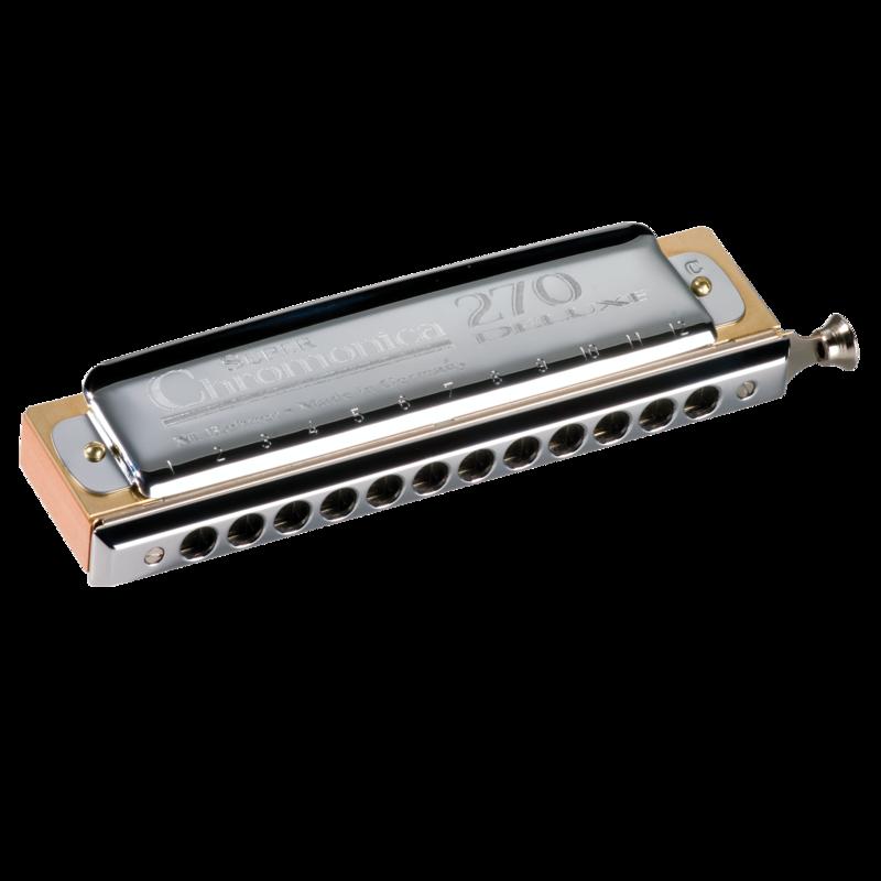 Hohner Chromatic Harmonica Super Chromonica 270 Deluxe