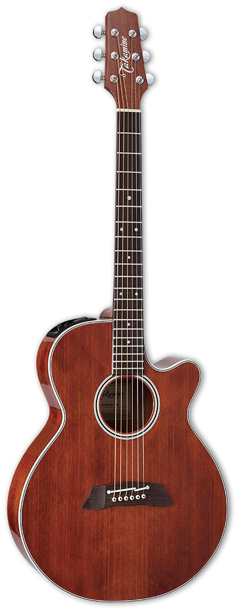 Takamine EF261S-AN Acoustic Electric Guitar