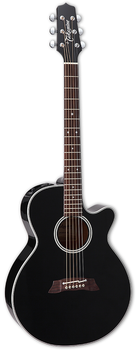 Takamine EF261S-BL Acoustic Electric Guitar