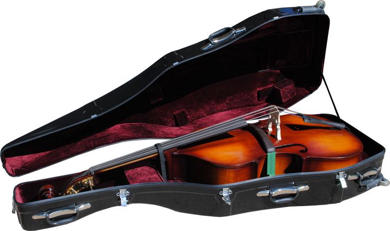 Enthral Professional Hardshell Bass Case - Black Polish