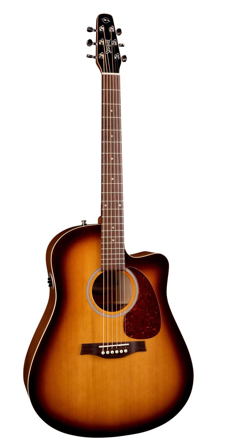 Seagull Entourage Rustic CW QIT Acoustic Guitar