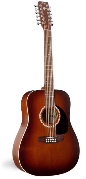 Art & Lutherie 12 String Cedar Antique Burst Acoustic Guitar