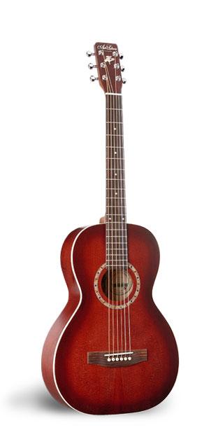 Art & Lutherie Ami Spruce Burgundy Acoustic Guitar