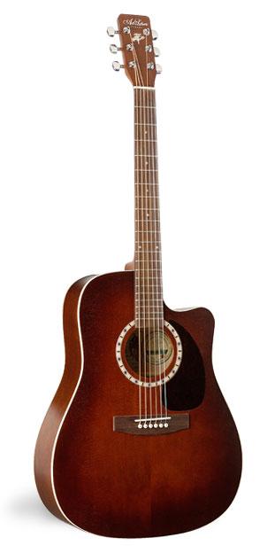 Art & Lutherie CW Cedar Antique Burst Acoustic Guitar