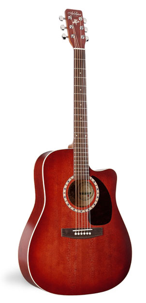 Art & Lutherie CW Spruce Burgundy Acoustic Guitar