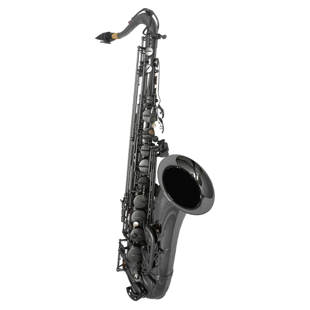 Schiller Havana Tenor Saxophone - Black Nickel with Totem Keys