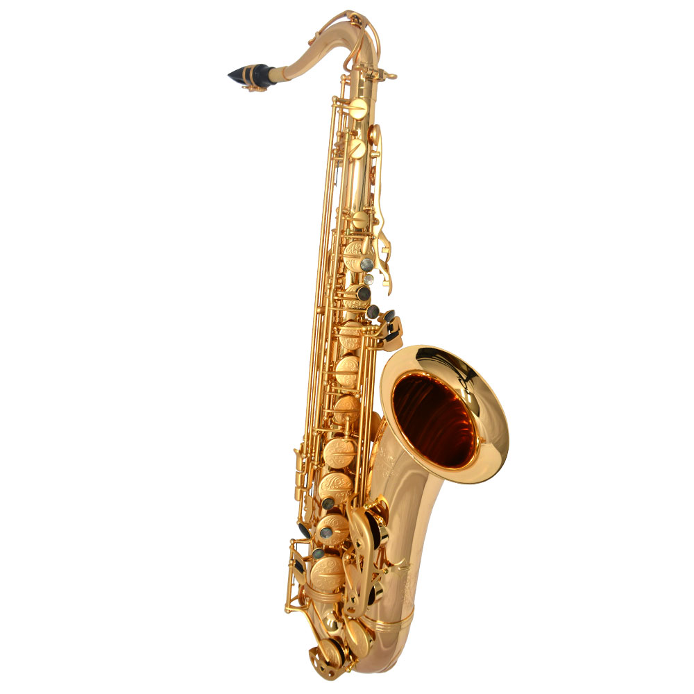 Schiller Havana Tenor Saxophone - Gold Gloss with Totem Keys