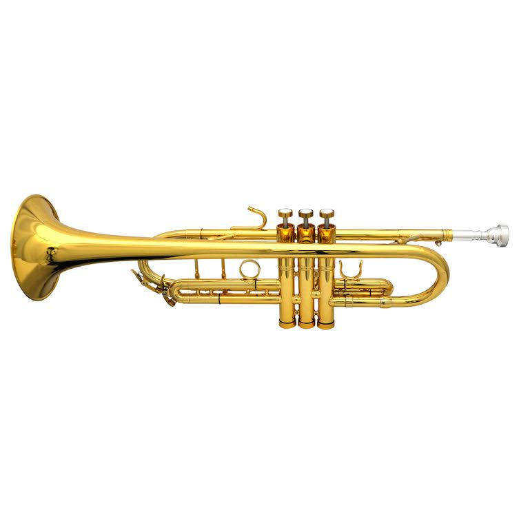 Schiller Frankfurt Elite Custom Trumpet Gold Plate