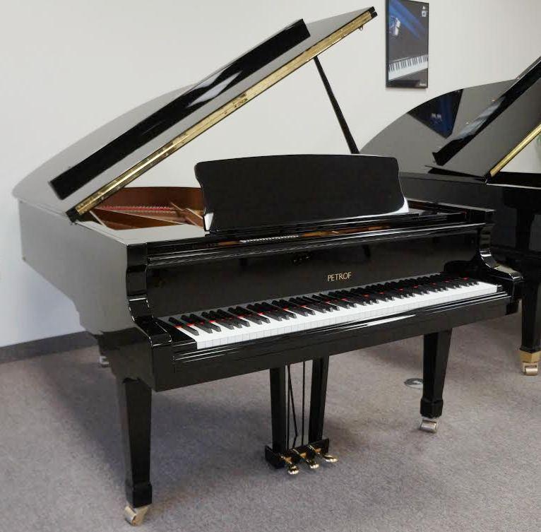 Petrof III Grand Piano - Ebony Polish