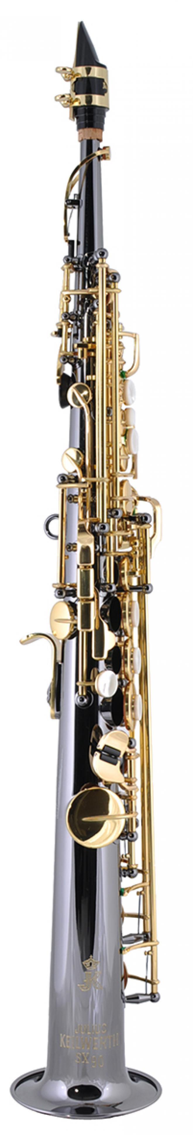 "Keilwerth Model JK1300-5B Soprano Sax - Black Nickel Finish ""SX90"""