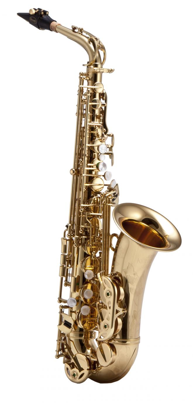 "Keilwerth Model JK2400-8 Alto Sax - Gold Lacquer ""SX90R"""