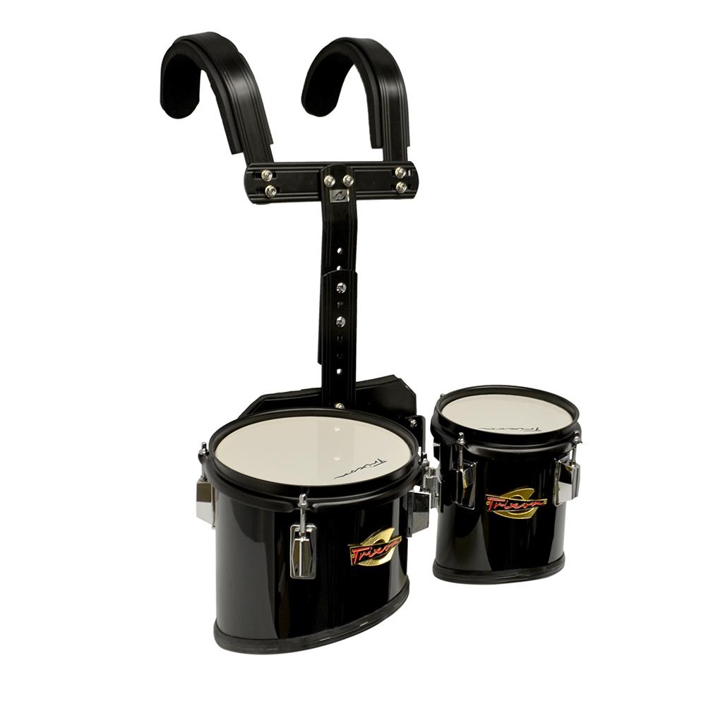 b858226ebad0 Trixon Junior Marching Toms – Set of 2 – Black – Jim Laabs Music Store