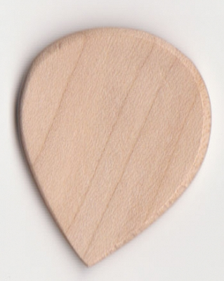 Thicket Wooden Guitar Pick - Boxwood - Pack of 3 - Thin