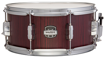 Mapex Mars Matching Snare Drum - MAS4656RW  - Blood Wood