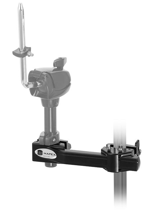 Mapex Horizontal Adjustable Multi-Purpose Clamp, Black Finish - MC910EB