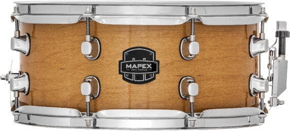Mapex MPX Maple Snare Drum - MPML3600CNL - Transparent Natural