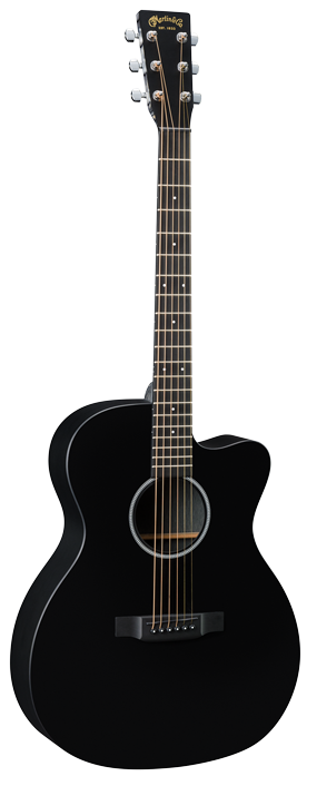 Martin OMCXAE Black Acoustic Guitar