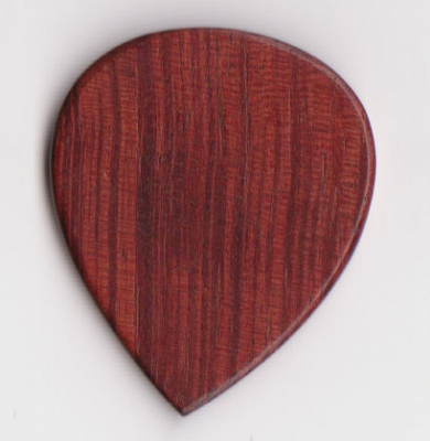 Thicket Wooden Guitar Pick - Padauk - Pack of 3 - Thin