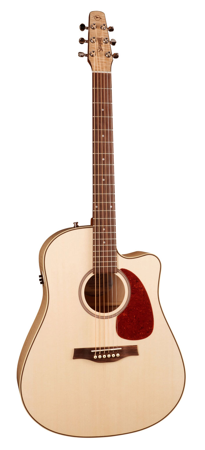 Seagull Performer CW Flame Maple QIT Acoustic Guitar