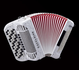 Excelsior 696 96 Bass Chromatic Accordion