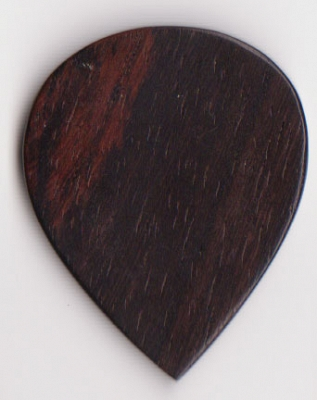 Thicket Wooden Guitar Pick - Rosewood - Pack of 3 - Heavy