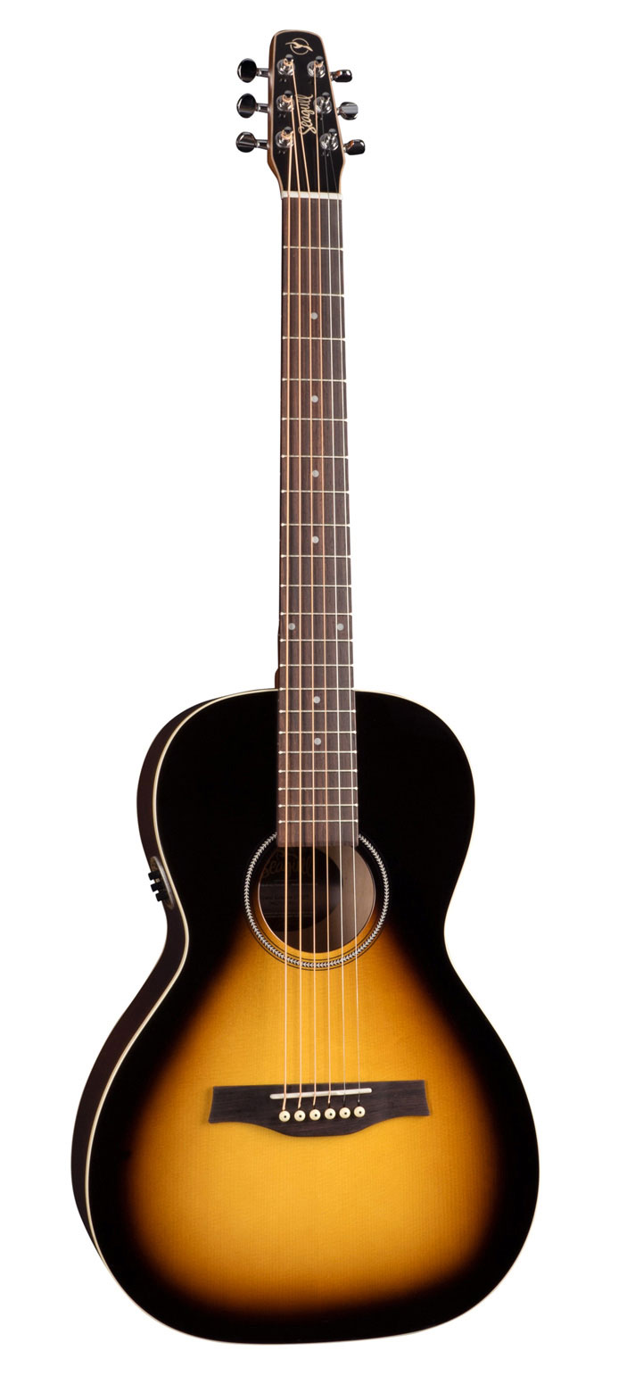 Seagull S6 Spruce Sunburts GT QIT Acoustic Guitar