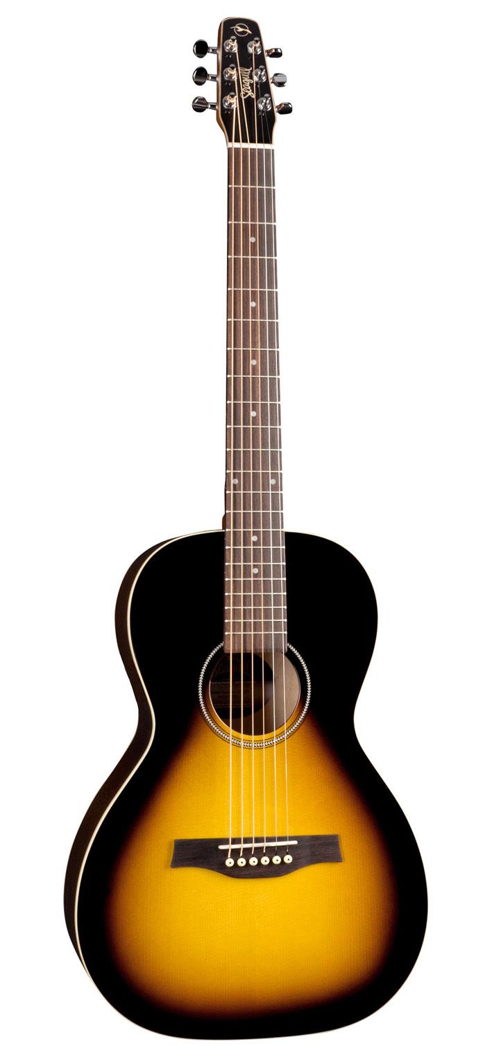 Seagull S6 Spruce Sunburts GT Acoustic Guitar