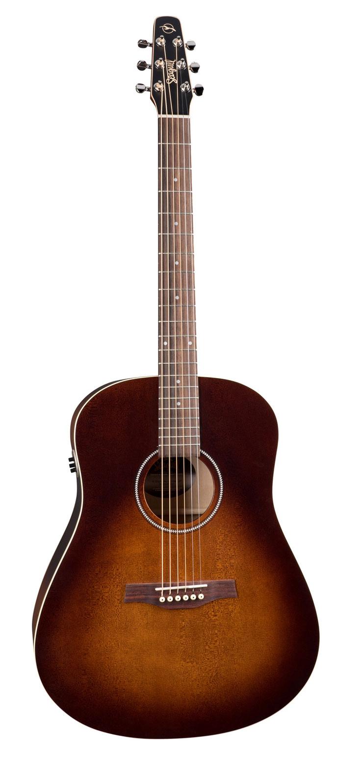 Seagull S6 Original Burnt Umber QIT Acoustic Guitar