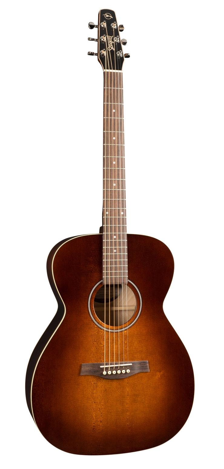 Seagull S6 Original Slim Concert Hall Burnt Umber GT A/E Acoustic Guitar