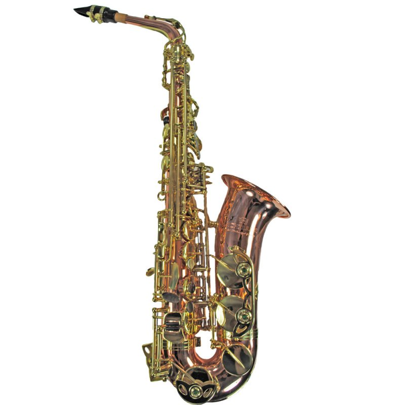Schiller Elite IV Alto Saxophone - Copper & Gold
