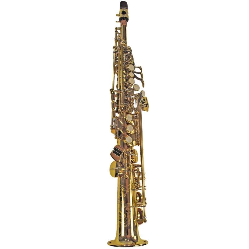 Schiller Elite IV Sopranino Saxophone - Gold