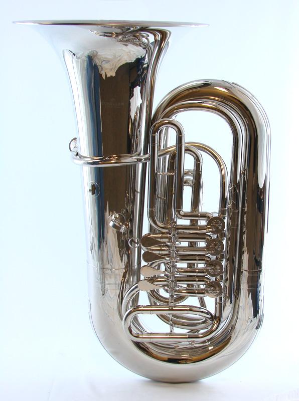 Schiller American Heritage 4 Valve Rotary Nickel Tuba