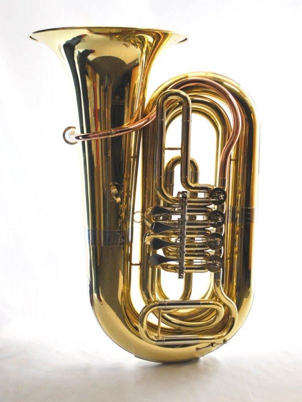 Schiller American Heritage 4 Valve 3/4 Rotary Tuba