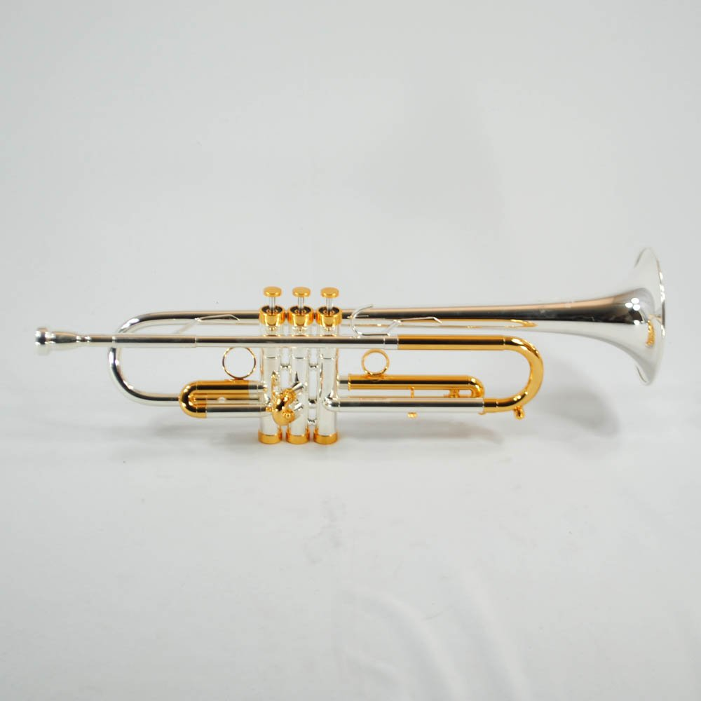Schiller CenterTone Trumpet - Silver & Gold