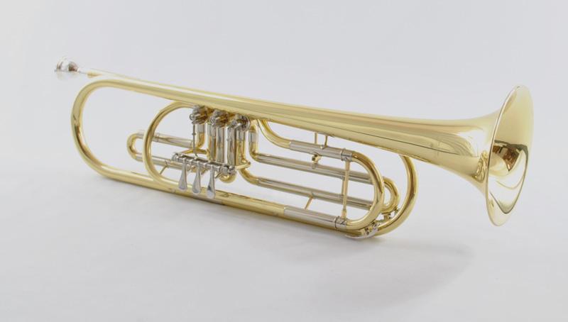 Schiller Bass Trumpet - Elite Rotary Valve