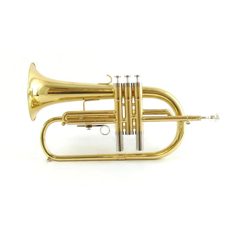Schiller CenterTone Flugelhorn - Gold Brass