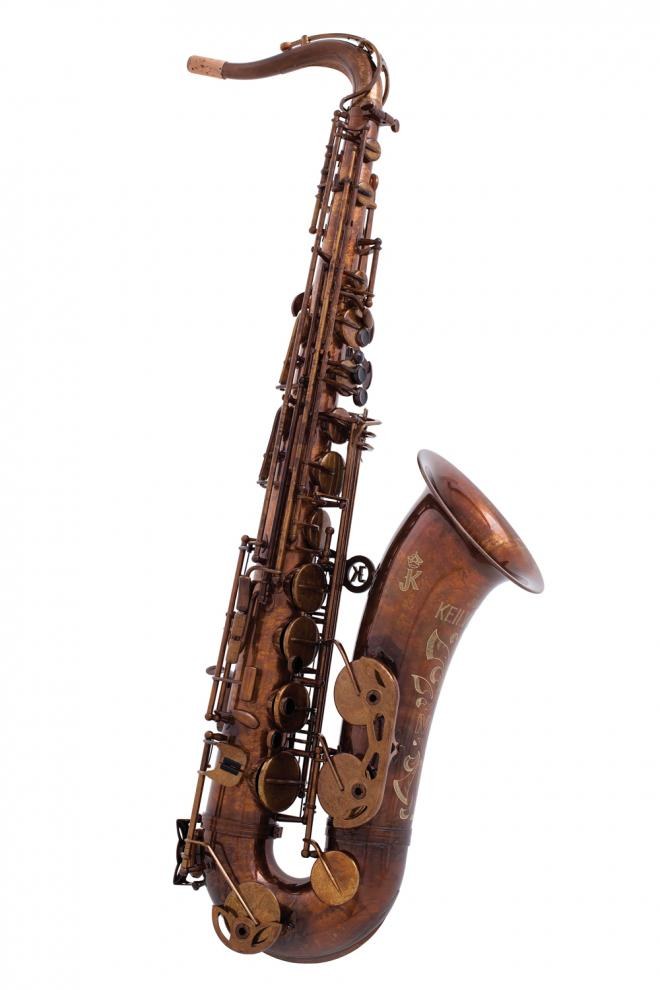 "Keilwerth Model JK3000-9-0 Tenor Sax - Antique Brass ""MKX"""