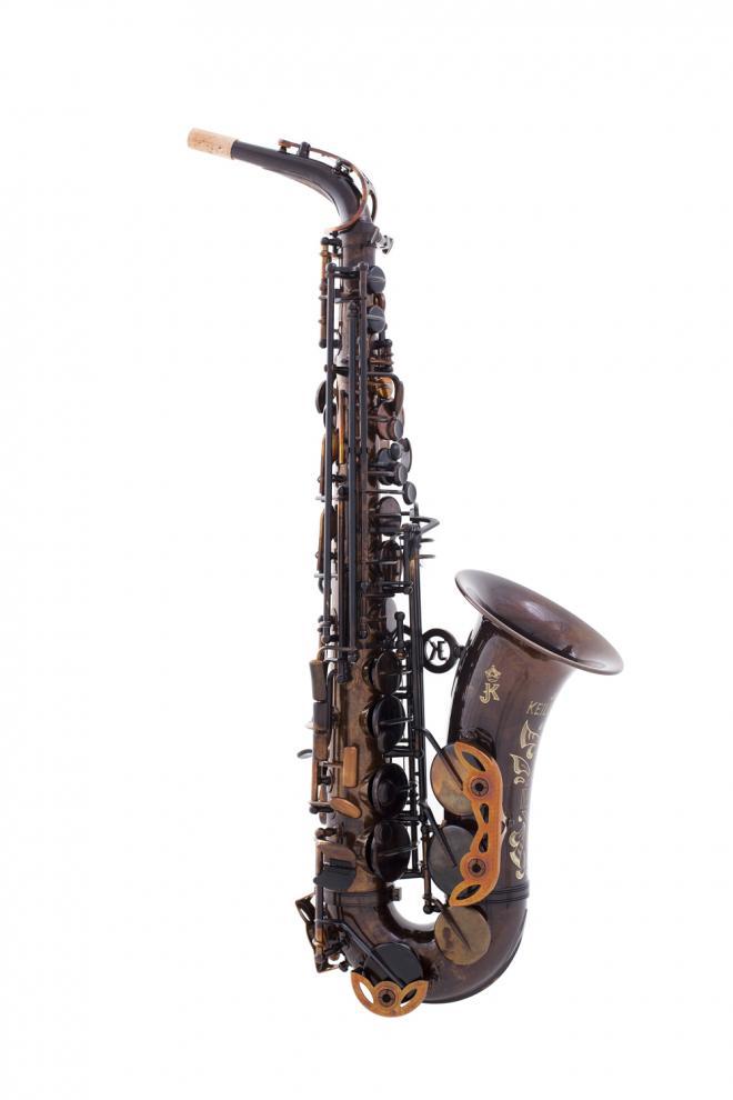 "Keilwerth Model JK2000-9-0 Alto Sax - Antique Brass ""MKX"""