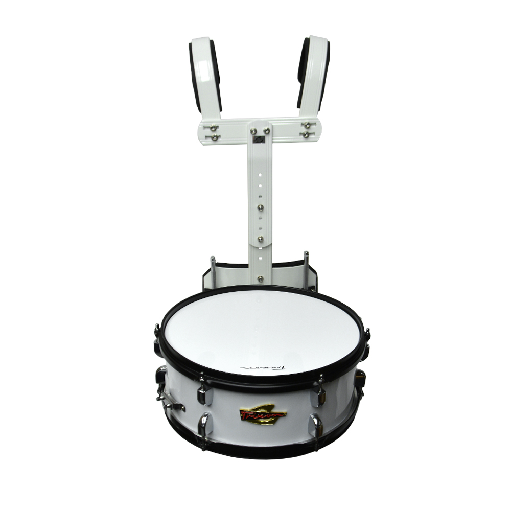 Trixon Scholastic Marching Snare 13x5.5 - White Polish