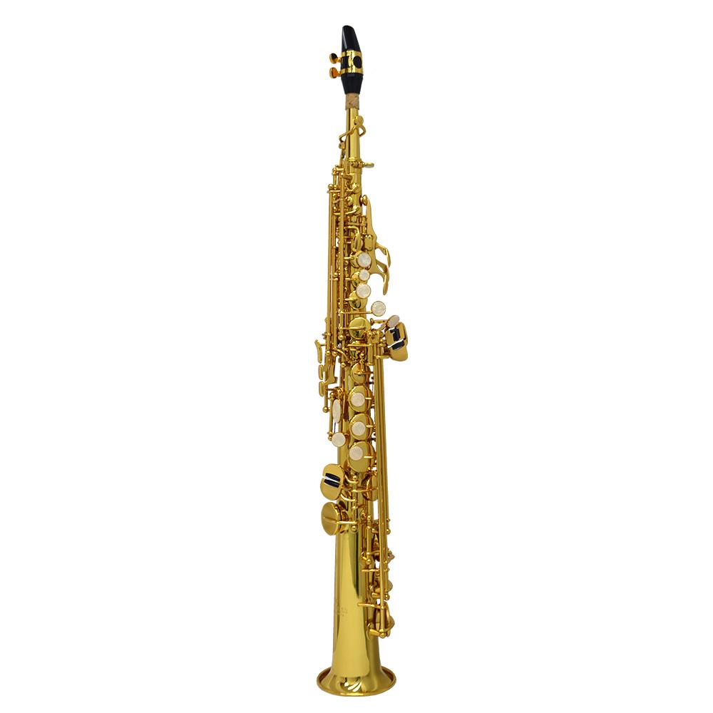 Schiller American Heritage 400 Soprano Saxophone - Gold Lacquer