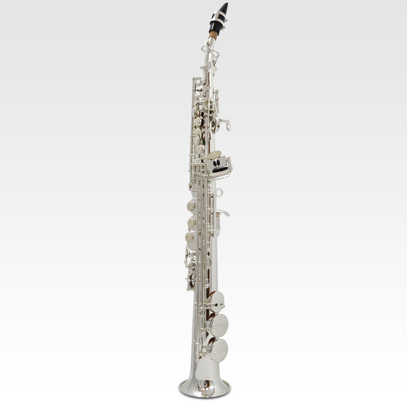 Schiller Elite V Soprano Saxophone – Silver Plated