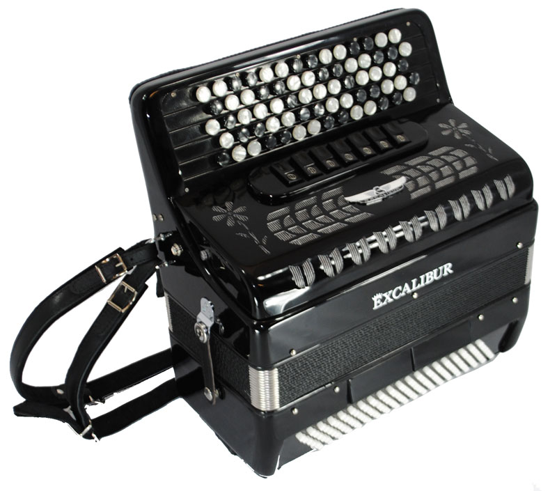 Excalibur Chromatic Stuttgart 120 Bass Accordion