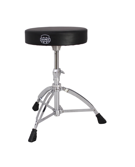 Mapex Round Top Double Braced Drum Throne - T550A